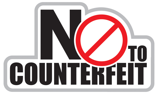 Say No To Counterfeit!